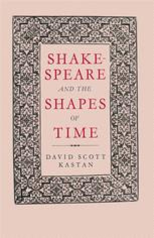 Shakespeare and the Shapes of Time