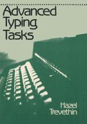 Advanced Typing Tasks