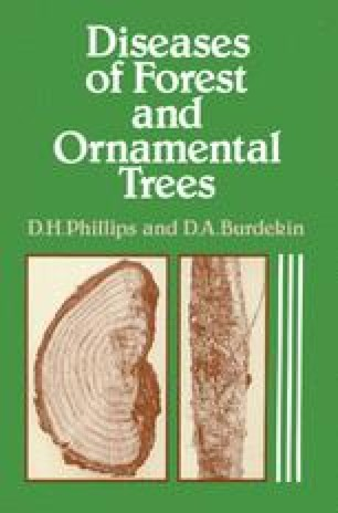 Diseases of Forest and Ornamental Trees