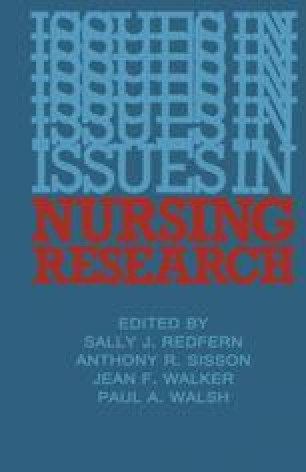 Issues in Nursing Research