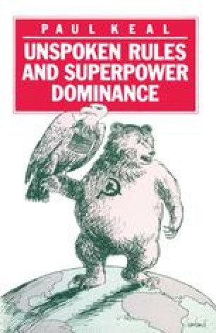 Unspoken Rules and Superpower Dominance