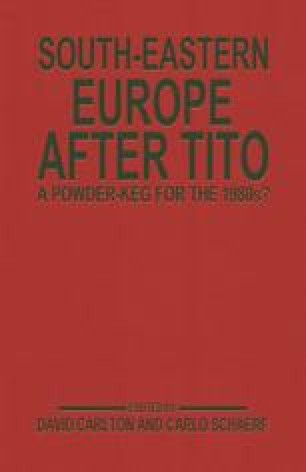South-Eastern Europe after Tito
