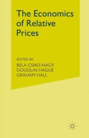The Economics of Relative Prices