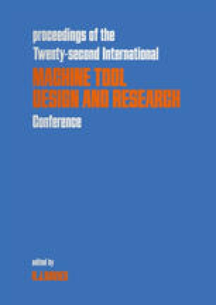Proceedings of the Twenty-second International Machine Tool Design and Research Conference