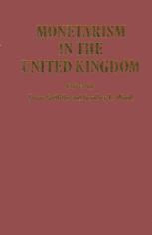 Monetarism in the United Kingdom