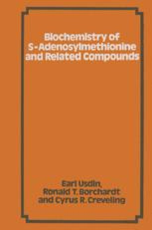 Biochemistry of S-Adenosylmethionine and Related Compounds