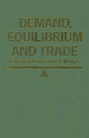 Demand, Equilibrium and Trade