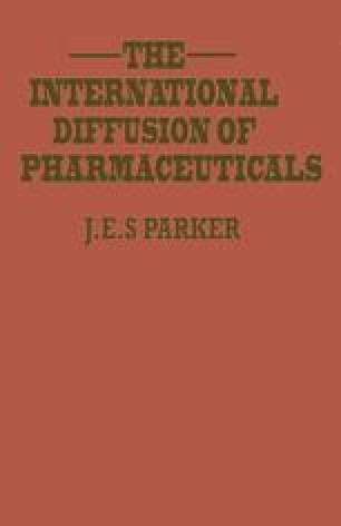 The International Diffusion of Pharmaceuticals