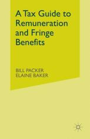 A Tax Guide to Remuneration and Fringe Benefits