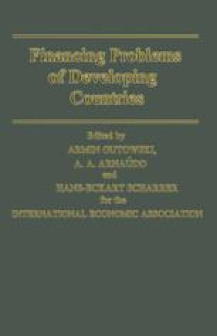 Financing Problems of Developing Countries