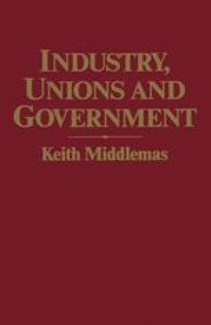 Industry, Unions and Government