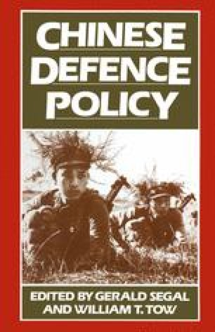 Chinese Defence Policy