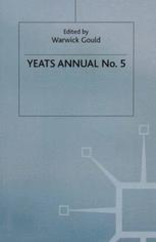 Yeats Annual No. 5