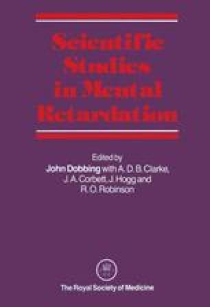 Scientific Studies in Mental Retardation