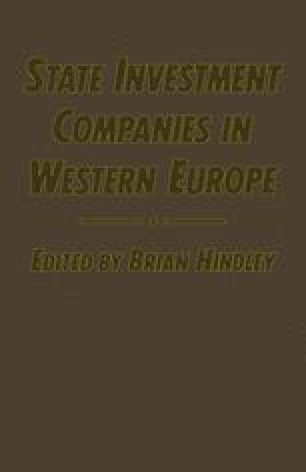State Investment Companies in Western Europe
