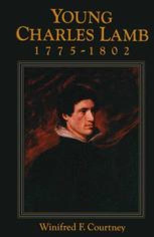 Young Charles Lamb 1775–1802