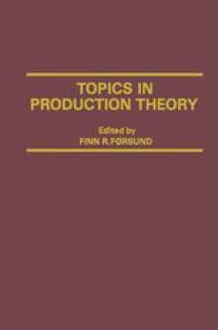 Topics in Production Theory