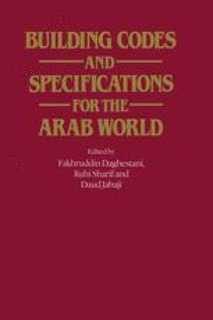 Building Codes and Specifications for the Arab World