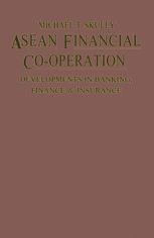 ASEAN Financial Co-operation