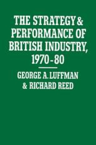 The Strategy and Performance of British Industry, 1970–80