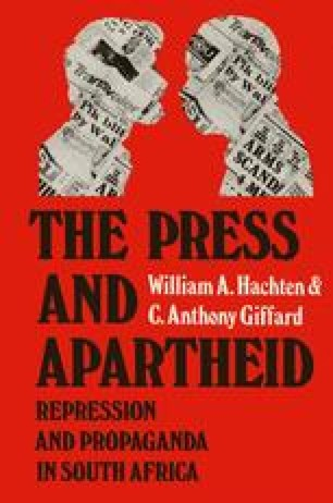 The Press and Apartheid