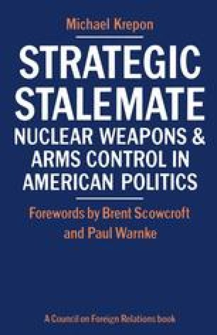 Strategic Stalemate: Nuclear Weapons and Arms Control in American Politics