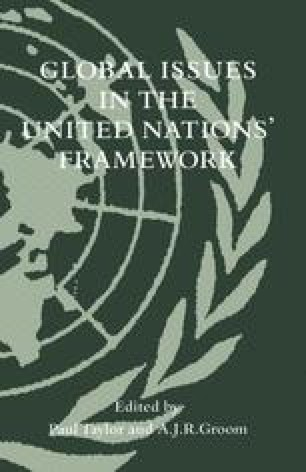 Global Issues in the United Nations' Framework