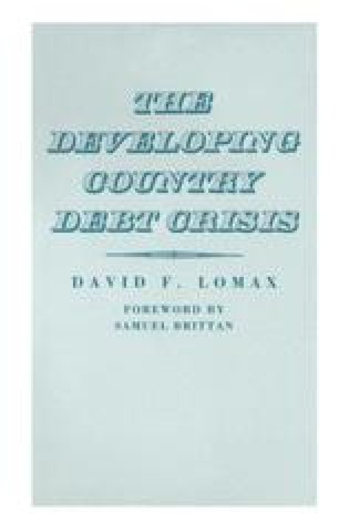 The Developing Country Debt Crisis