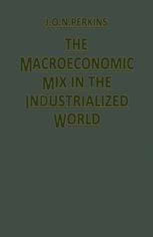 The Macroeconomic Mix in the Industrialized World