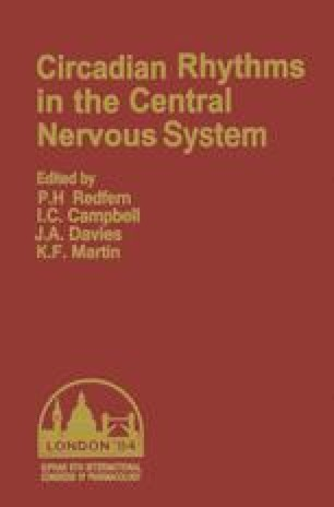 Circadian Rhythms in the Central Nervous System