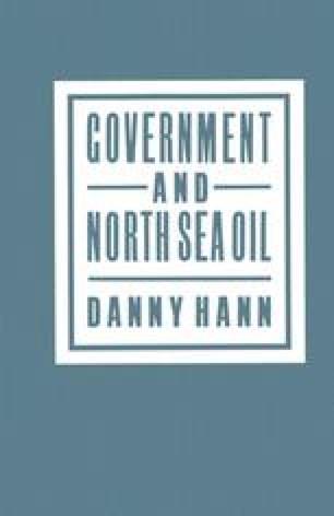 Government and North Sea Oil