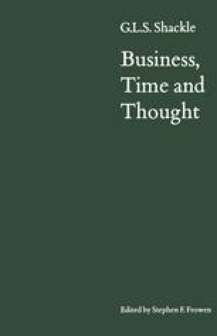 Business, Time and Thought