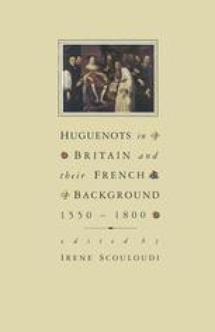 Huguenots in Britain and their French Background, 1550–1800