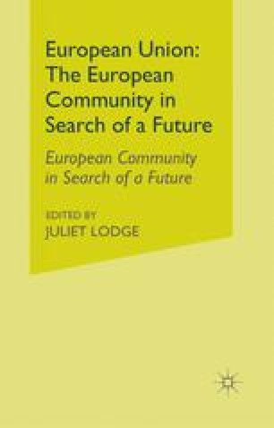 European Union: The European Community in Search of a Future