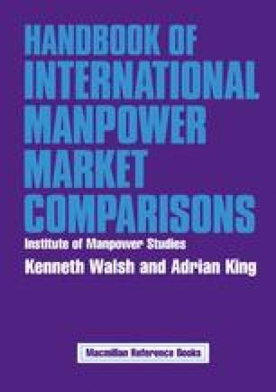 Handbook of International Manpower Market Comparisons