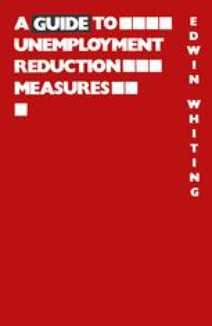 A Guide to Unemployment Reduction Measures
