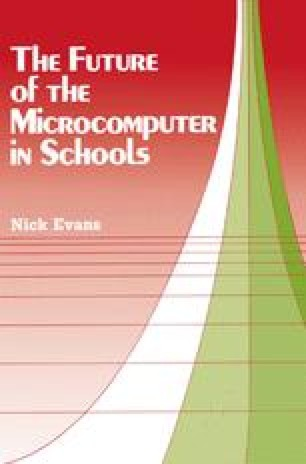 The Future of the Microcomputer in Schools