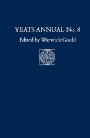 Yeats Annual No. 8