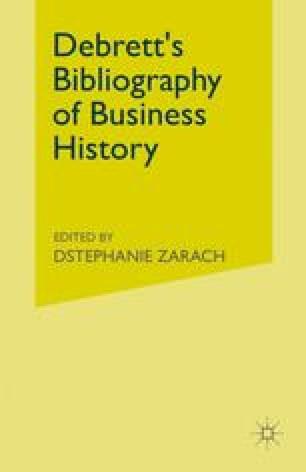 Debrett's Bibliography of Business History