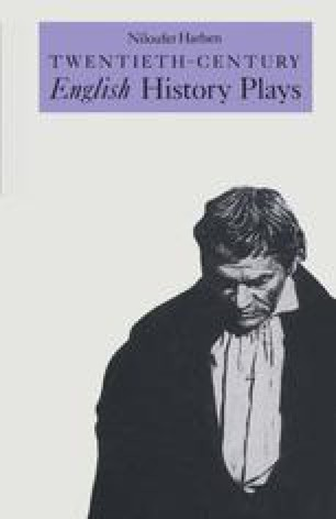 Twentieth-Century English History Plays