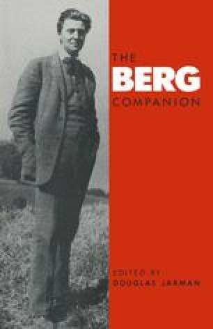 The Berg Companion