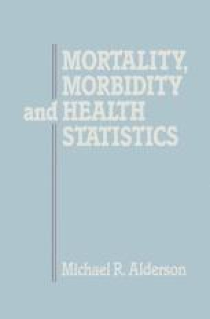 Mortality, Morbidity and Health Statistics