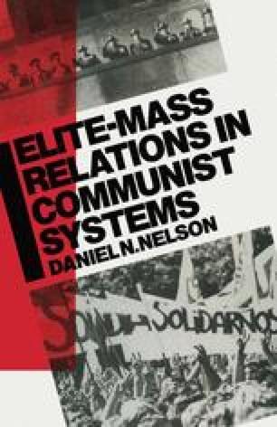 Elite-Mass Relations in Communist Systems