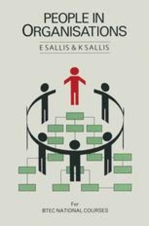 People in Organisations