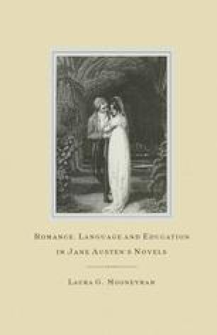 Romance, Language and Education in Jane Austen's Novels