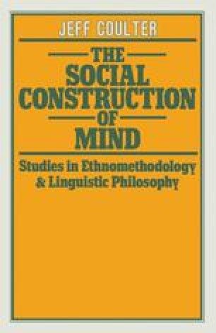 The Social Construction of Mind