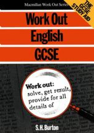 Work Out English GCSE