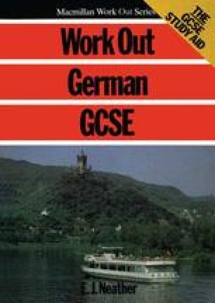 Work Out German GCSE