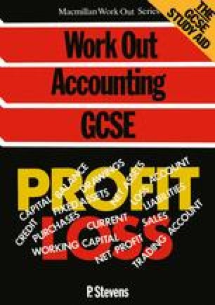 Work Out Accounting GCSE