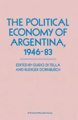 The Political Economy of Argentina, 1946–83